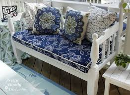 perfect recover outdoor seat cushions sewing a bench cushion with