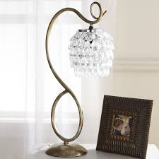 Small Lamps Lamps Crystal Look Table Lamp For Bedroom Decor Touch Lamp