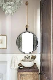 How To Hang Bathroom Mirror Hanging Bathroom Mirror Hanging Vanity Mirror Medium Size Of