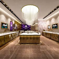 Jewelry Shop Decoration Shop Decoration Jewelry Luxury Classic Jewelry Brand Image