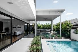 a guide to feng shui in home design kalka rochedale display home outdoor entertainment area pool feng shui bbq