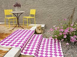 Outdoor Plastic Rugs Let39s Stay Colorful Outdoor Plastic Mats Recycled Plastic Rugs