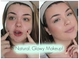 natural glowy makeup tutorial featuring anastasia contour kit