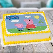 peppa pig cake peppa pig photo cake winni in