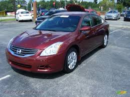 2010 nissan altima 2 5 s in tuscan sun red 117149 autos of