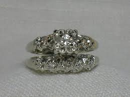 wedding ring best 25 vintage wedding ring sets ideas on