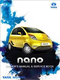 tata nano owners manual seat belt hvac