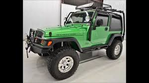 jeep wrangler tj rubicon for sale 2004 jeep wrangler rubicon 4wd lifted for sale