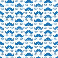 mustache wrapping paper pattern background mustache stock vector more images
