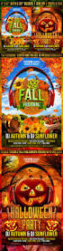 free halloween party flyer templates fall and halloween flyer template