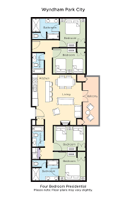 River City Phase 1 Floor Plans by Club Wyndham Wyndham Park City