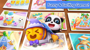 baby panda u0027s theme party halloween u0026 beach party android apps