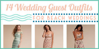 14 beach wedding guest from florals to boho styles