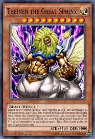 theinen the great sphinx yu gi oh tcg pinterest