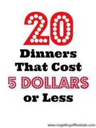 Dinner For Two Ideas Cheap 101 Cheap And Easy Dinner Ideas To Make On A Budget A Well