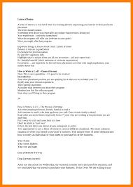 Intent Letter For A Job 9 the letter of intent resumed job