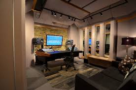 audio room equipment of sound recording and smart layout