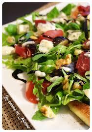 cuisine saison salade de saison figues gorgonzola noix de jambon sa sauce