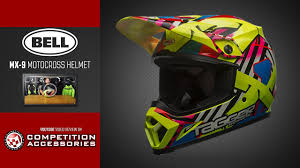 bell motocross helmet bell mx 9 offroad helmet review youtube