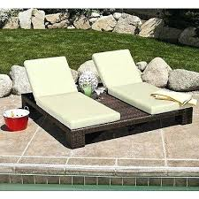 Outdoor Chaise Lounge Replacement Cushions Outdoor Double Chaise Lounge Replacement Cushions Patio Chaise