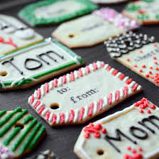 gift cookies christmas cookie gift tags food wine