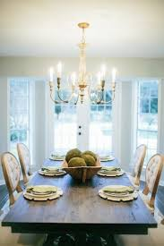 fixer upper dining table bay window with french doors in dining room dream home style