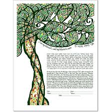 mp artworks for tribal tree iii ketubah
