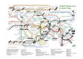 Dc Metro Rail Map by A Simple Map Of The Tokyo Metro