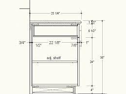 Kitchen Cabinet Height Standard Kitchen Cabinet Dimensions Standard Drawing Exitallergycom