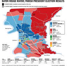 Map Of The Keys How Do Baton Rouge Mayor President Runoff Foes Win It All 2