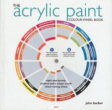 the acrylic paint colour wheel book colour wheel books john
