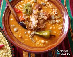 cuisine arabe 4 aïch berkoukes ou gros couscous d hiver mains cuisiner et algérie