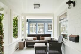 santa monica beach house beach style porch los angeles by
