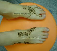 henna feet tattoo me