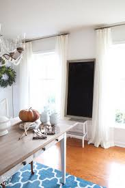 dining room drapes in my own style