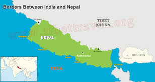 World Map Of India by Map Of India And Nepal Nepal India Border Map India Tourist Map