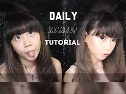 review tutorial makeup sehari hari tutorial makeup sehari hari daily makeup tutorial momo cleo