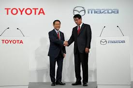 mazda corp toyota mazda plan joint assembly plant in u s reports say