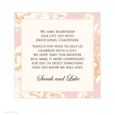 honeymoon bridal registry wedding invitation gift registry wording yourweek d73d32eca25e