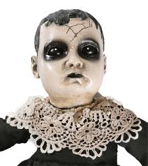 halloween dolly gross mutant baby stinky doll puppet ugly costume prop accessory