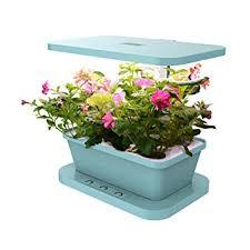 amazon com docheer indoor smart herb garden with 6 basil