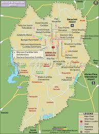 curitiba hotels map hotels in curitiba city brazil