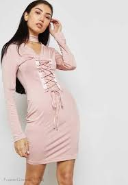 light pink bodycon dress glamorous light pink lace up bodycon dress a lot of concessions