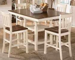 Counter Height Dining Room Chairs Dining Room Design Cottage Style Counter Height Dining Set With