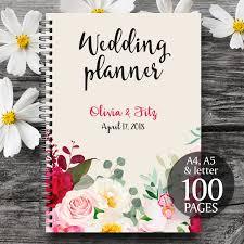 wedding book planner burgundy wedding planner printable wedding planner wedding