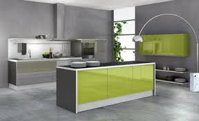 cuisine gris et vert univers cuisine couleur vert de gris