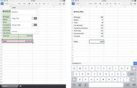 google sheets for iphone and ipad review it imore