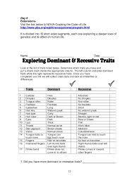 7th heredity u0026 genetics 10 13 08