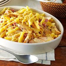 chicken cordon bleu pasta recipe taste of home