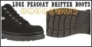 men u0027s lugz peacoat drifter boots giveaway my dairyfree